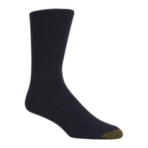 Men's Gold Toe Rayon from Bamboo 2226S (12 Pairs) Navy