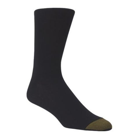 Men's Gold Toe Rayon from Bamboo Fashion Pack 2198S (12 Pairs) Black