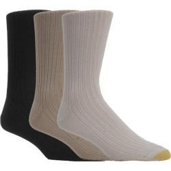 Men's Gold Toe Canterbury Anklet 794S (12 Pairs) Multi Pack (Tan/Khaki/Black)