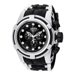 Men's Invicta Bolt 827 Black/Stainless Steel/Polyurethane/Black