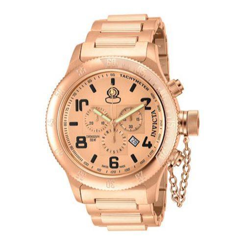 Men's Invicta Russian Diver 15477 Rose Gold Stainless Ste...