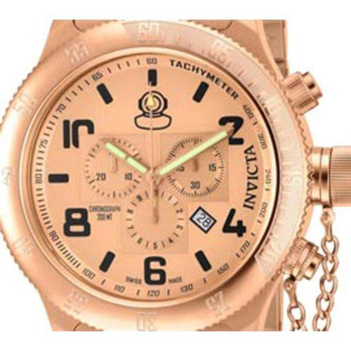 Men's Invicta Russian Diver 15477 Rose Gold Stainless Steel/Rose Gold - Thumbnail 1