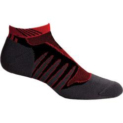 Men's K-Swiss KS60235 (2 Pack) Black/Fiery Red