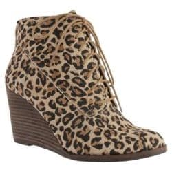 Women's Lucky Brand Yoanna Luxe Leopard Print Suede