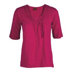 Women's Ojai Clothing Blossom Tee Cherry Jubilee