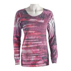 Women's Ojai Clothing Burnout L/S Crewneck Windpower