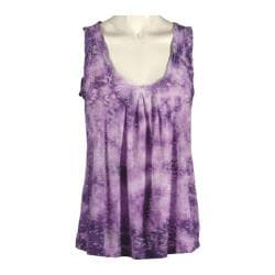 Women's Ojai Clothing Burnout Retro Tank Orchid