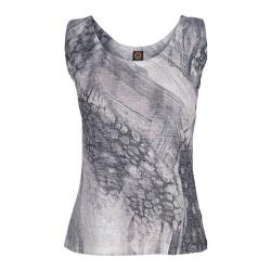 Women's Ojai Clothing Burnout Tank Dove Grey Pebble Creek