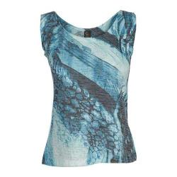 Women's Ojai Clothing Burnout Tank Patina Pebble Creek