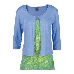 Women's Ojai Clothing Cardigan Casitas Blue