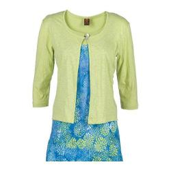 Women's Ojai Clothing Cardigan Citron