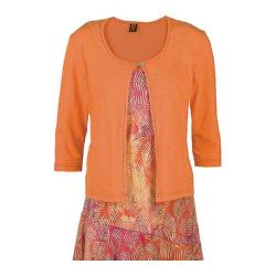 Women's Ojai Clothing Cardigan Tangerine