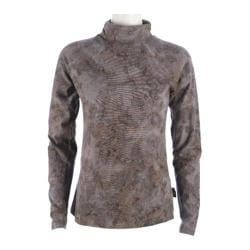 Women's Ojai Clothing Cozy Turtleneck Volcano Crinkle