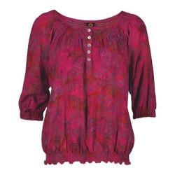 Women's Ojai Clothing Cherry Jubilee Easy Henley
