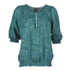 Women's Ojai Clothing Easy Henley Patina