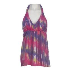 Women's Ojai Clothing Floaty Halter Hot Pink