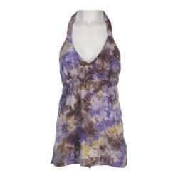 Women's Ojai Clothing Floaty Halter Purple