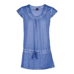 Women's Ojai Clothing Libby Tunic Blue Cornflower