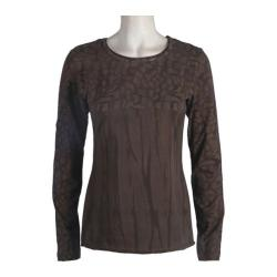Women's Ojai Clothing Soul Top Chocolate