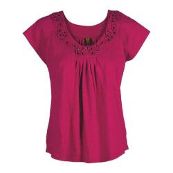 Women's Ojai Clothing Swing Tee Cherry Jubilee