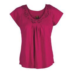 Women's Ojai Clothing Swing Tee Cherry Jubilee