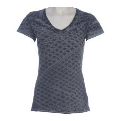 Women's Ojai Clothing Tie Dye V-Neck Grey
