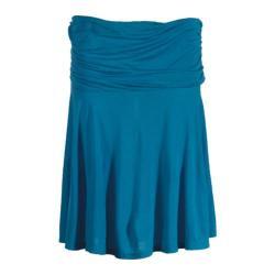 Women's Ojai Clothing Travel Samba Skirt Nile Blue