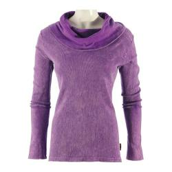 Women's Ojai Clothing Vintage Cowl Neck Boysenberry