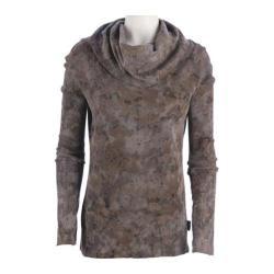 Women's Ojai Clothing Vintage Cowl Neck Volcano Crinkle