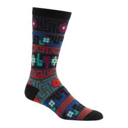 Men's Ozone Byzantine Elements Crew Socks (2 Pairs) Black