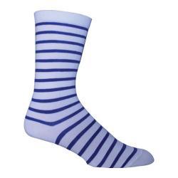 Men's Ozone Classic Stripe Crew Sock (2 Pairs) Cream