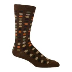 Men's Ozone Dots To Dots (2 Pairs) Chocolate