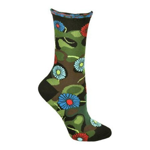 Women's Ozone Flower Camo (2 Pairs) Black