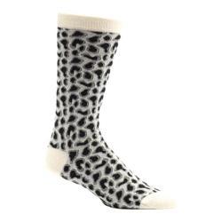 Men's Ozone Giraffe Crew Socks (2 Pairs) Cream