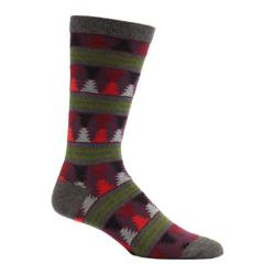 Men's Ozone Moore Stripes Crew Socks (2 Pairs) Grey
