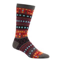 Men's Ozone Moroccan Stars Crew Socks (2 Pairs) Grey