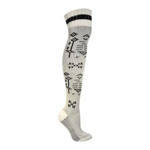 Women's Ozone Sweater Sock Beige