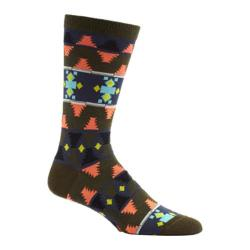 Men's Ozone Moroccan Waves Crew Socks (2 Pairs) Fougere
