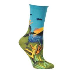 Women's Ozone Under the Sea (2 Pairs) Blue