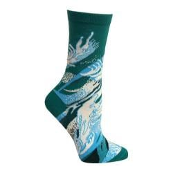 Women's Ozone Water Crew Sock (2 Pairs) Green