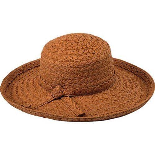 Shop Women s Pantropic Makawao Braided Sun Hat Rust - Free Shipping ... 065d6cfd7299