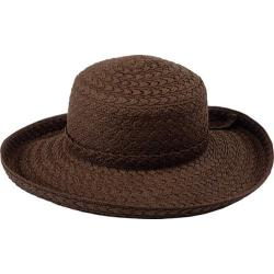 Women's Pantropic Makawao Braided Sun Hat Brown