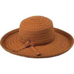 Women's Pantropic Makawao Braided Sun Hat Rust