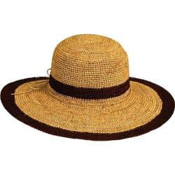 Women's Pantropic Margate Raffia Natural/Brown