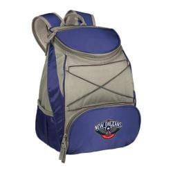 Picnic Time PTX Cooler Backpack New Orleans Pelicans Print Navy