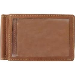Men's Piel Leather Money Clip 2633 Saddle Leather