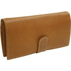 Piel Leather Multi-Card Wallet 2857 Saddle Leather