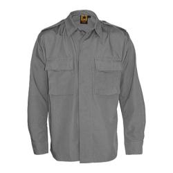 Men's Propper BDU 2-Pocket Shirt Long Sleeve 65P/35C Grey (3 options available)