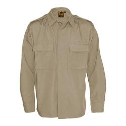 Men's Propper BDU 2-Pocket Shirt Long Sleeve 65P/35C Khaki