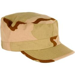 Propper BDU Patrol Cap 100pct Cotton 3 Color Desert Camo